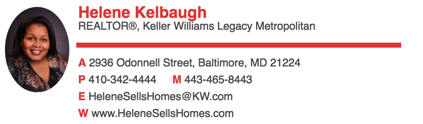 Helene Kelbaugh of Keller Williams Legacy Metropolitan