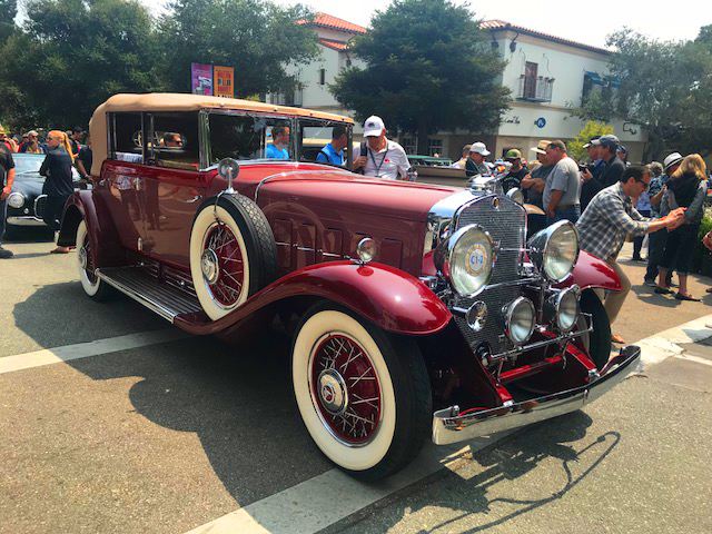 1931 Cadillac 452A Fleetwood All Weather Phaeton