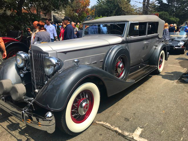 1934 Packard 1107 Twelve Convertible Sedan