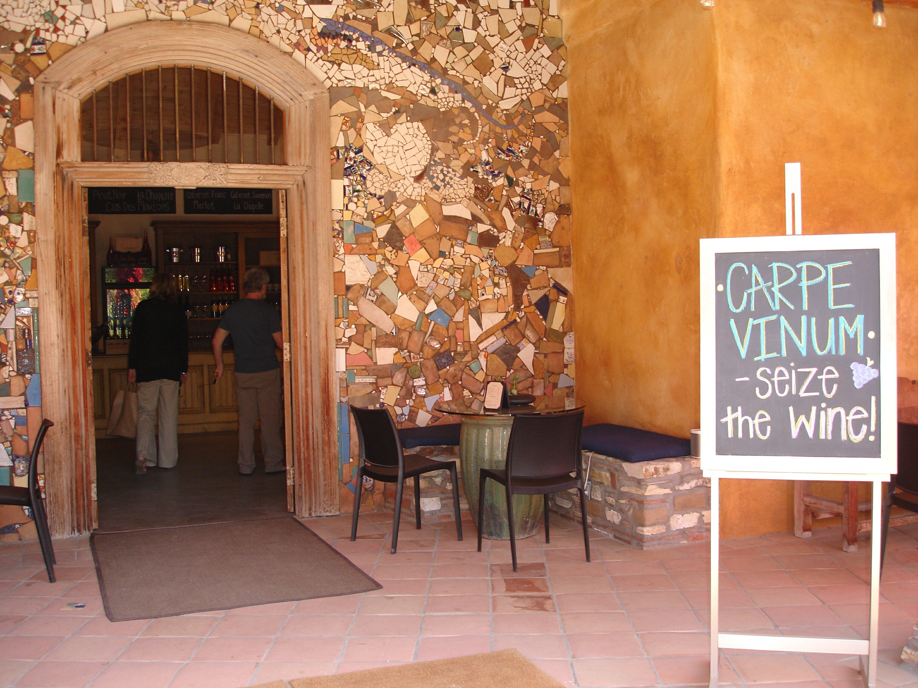 Carpe Vinum--Seize The Wine at Georis in Carmel Valley Village CA