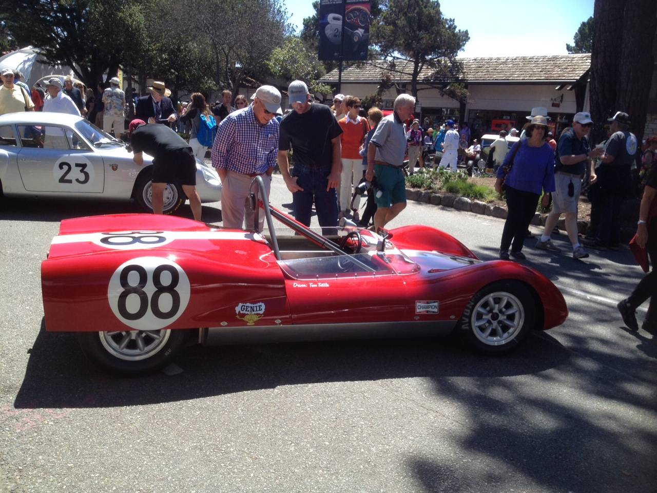 Carmel-by-the-Sea Concours on the Avenue