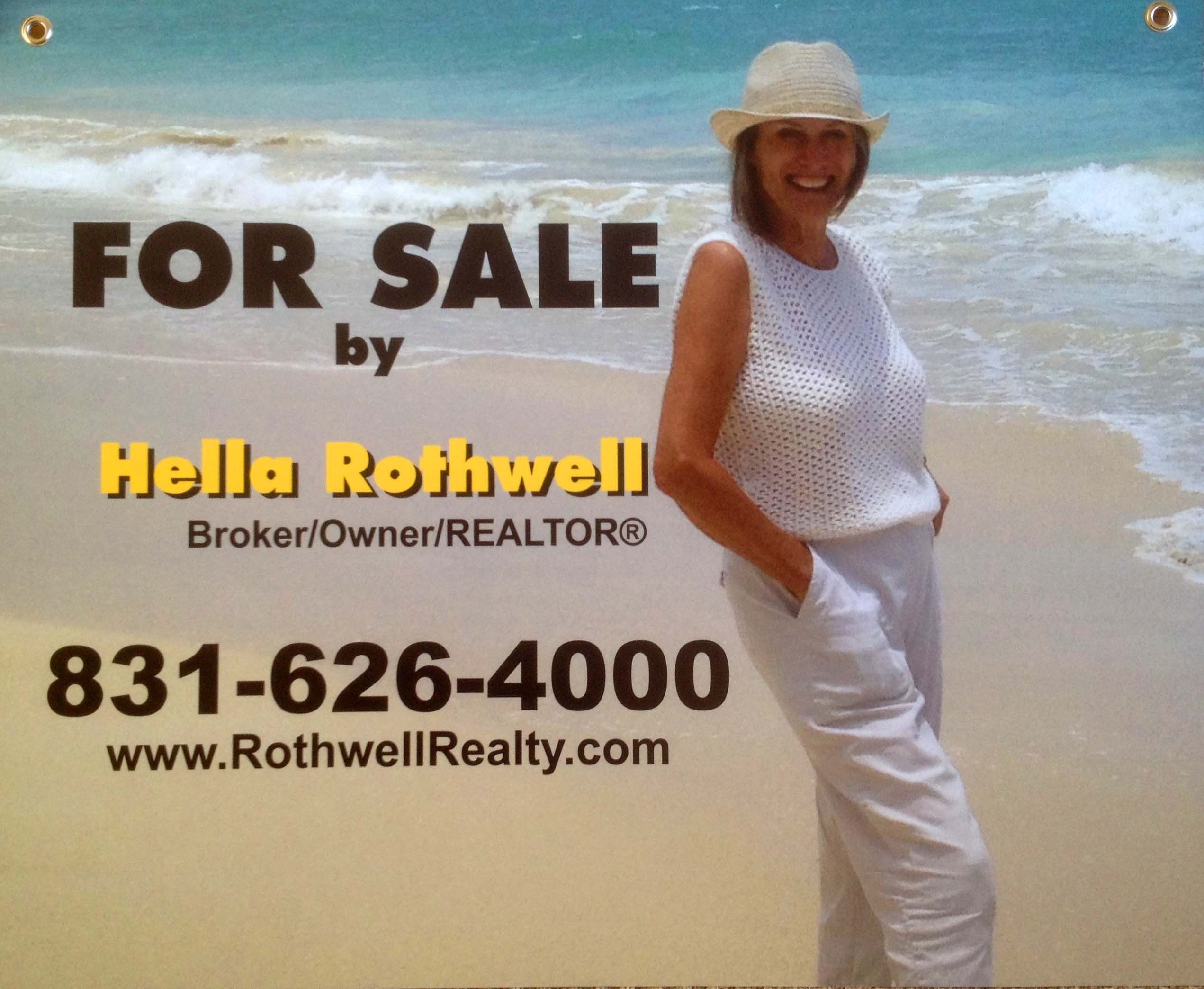Hella Rothwell real estate yard sign
