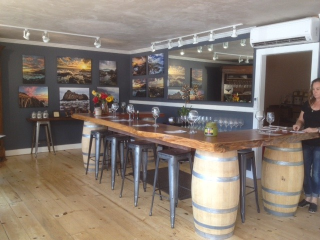 Big Sur Vineyards Wine Tasting Room in Carmel Valley CA