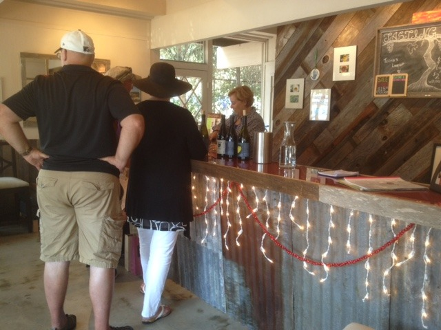 Bunter Spring Winery Tasting Room in Carmel Valley CA
