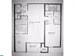 floor plan for a bakers bay unit