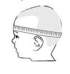 Childs head