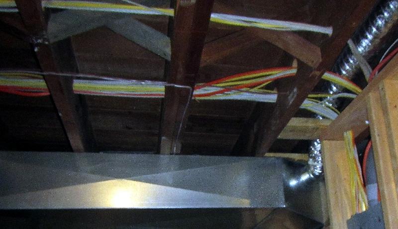 Improper wire bundles