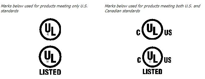 UL Listed Mark