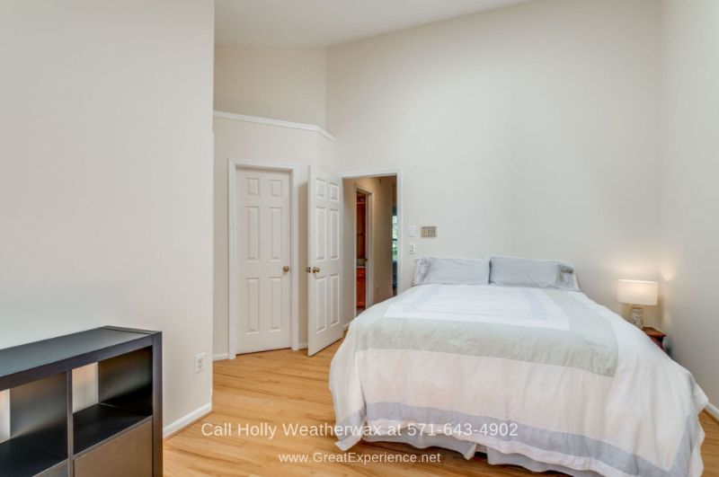 Reston VA Townhomes - Bask in the comfort and privacy of the spacious master bedroom of this townhome for sale in Reston VA