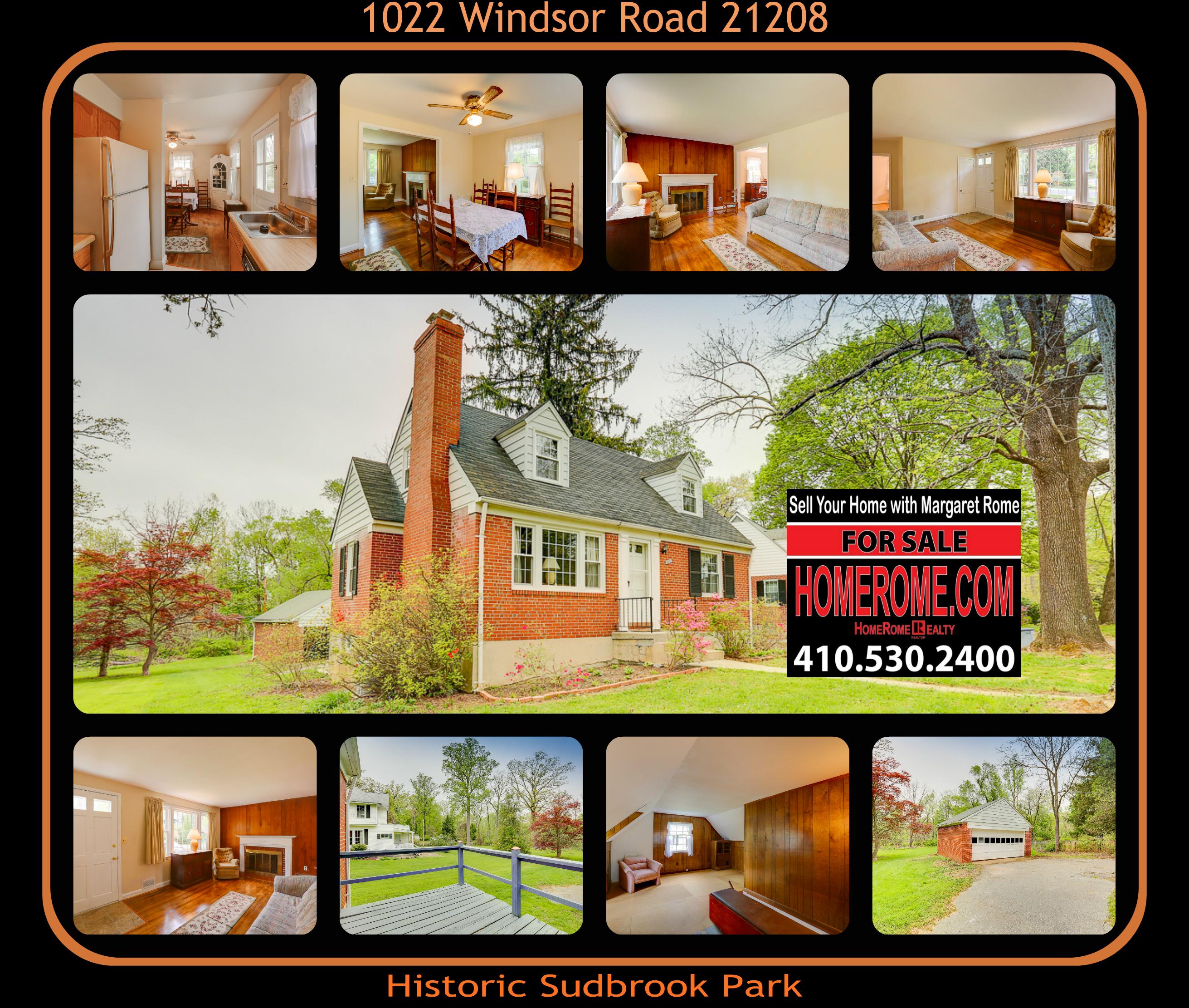 1022 Windsor Rd Margaret Rome 410-530-2400
