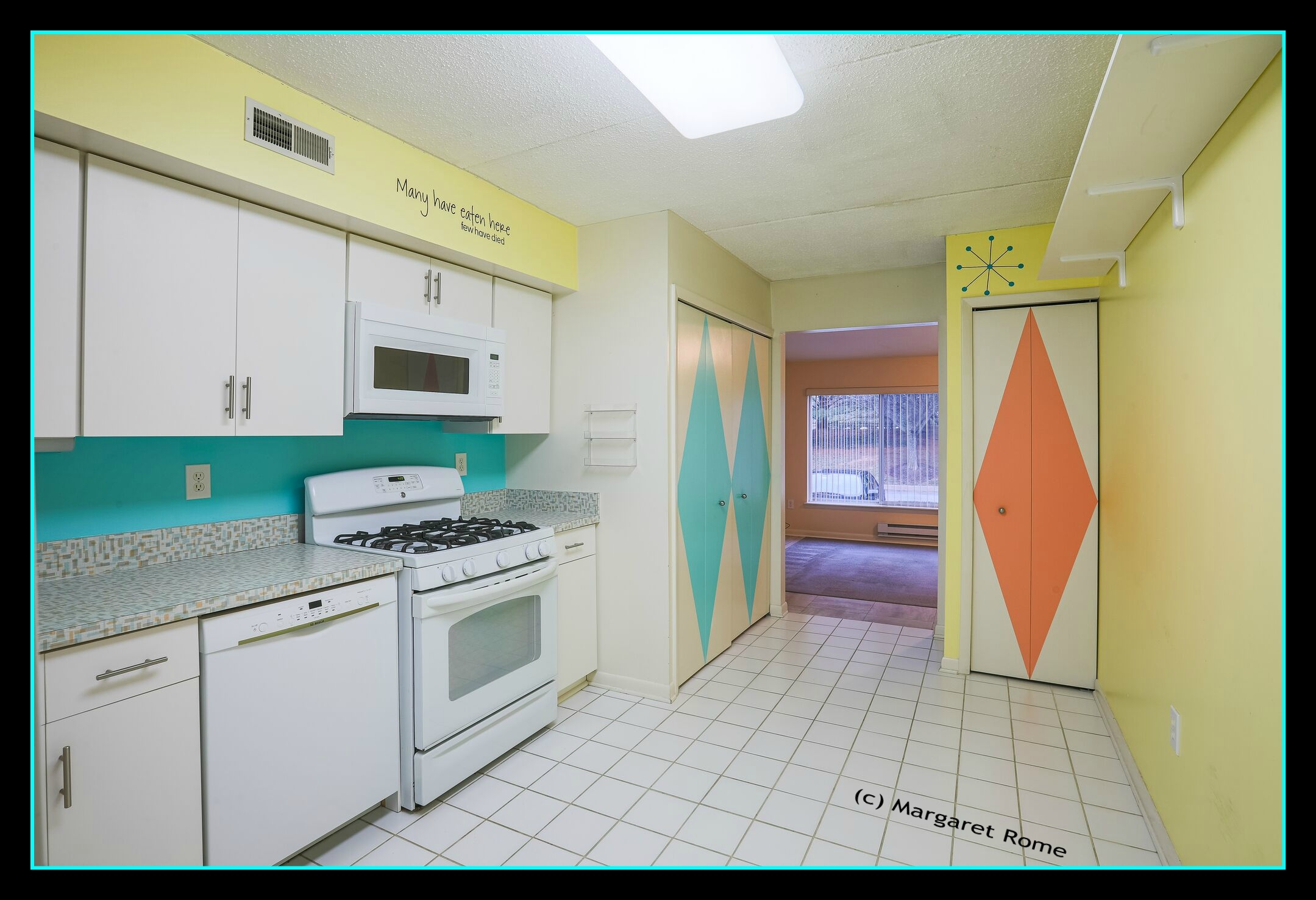 kitchen mid century modern