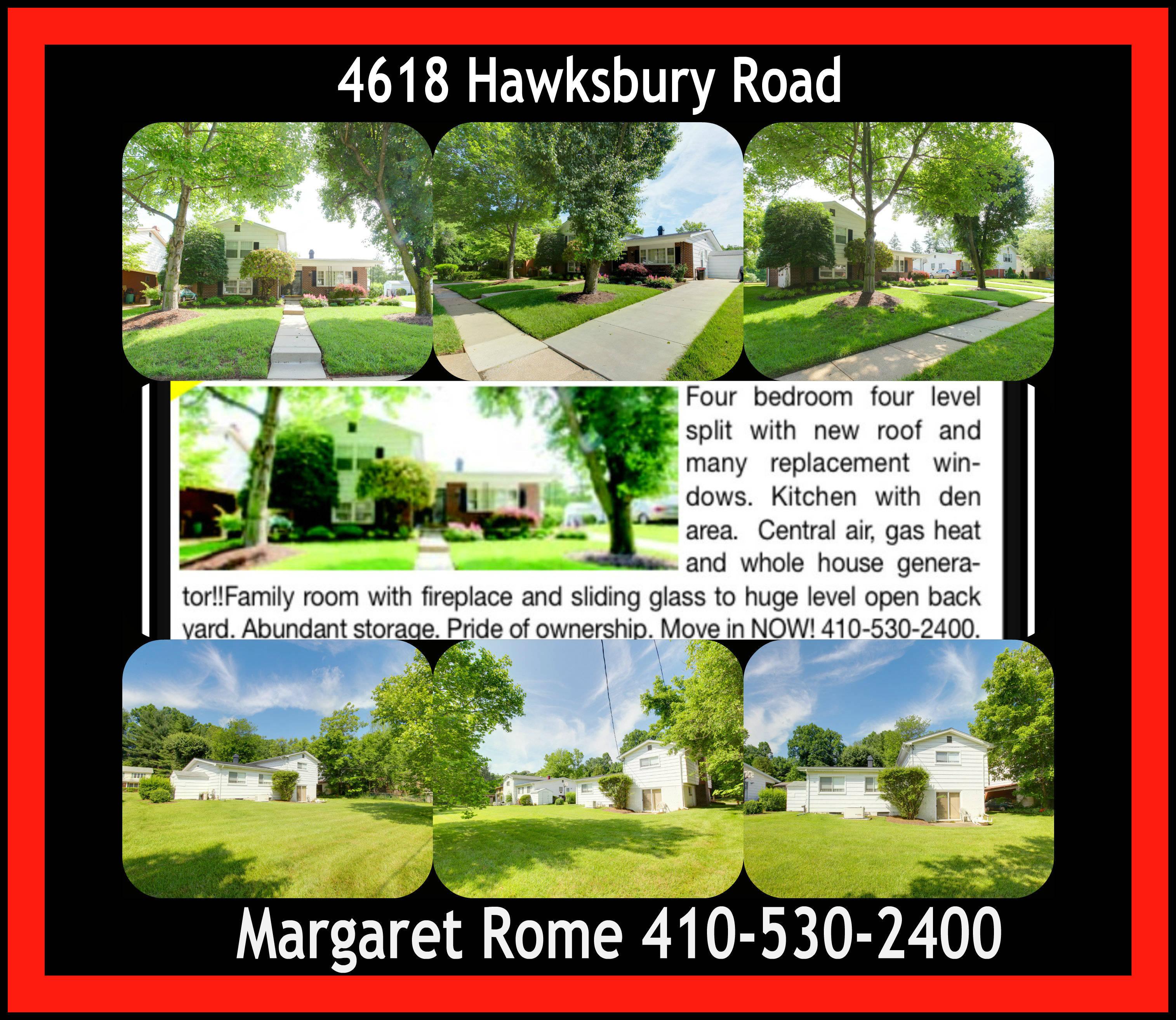 4618 Hawksbury Rd  410-530-2400