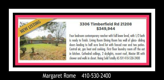3306 Timberfield Margaret Rome
