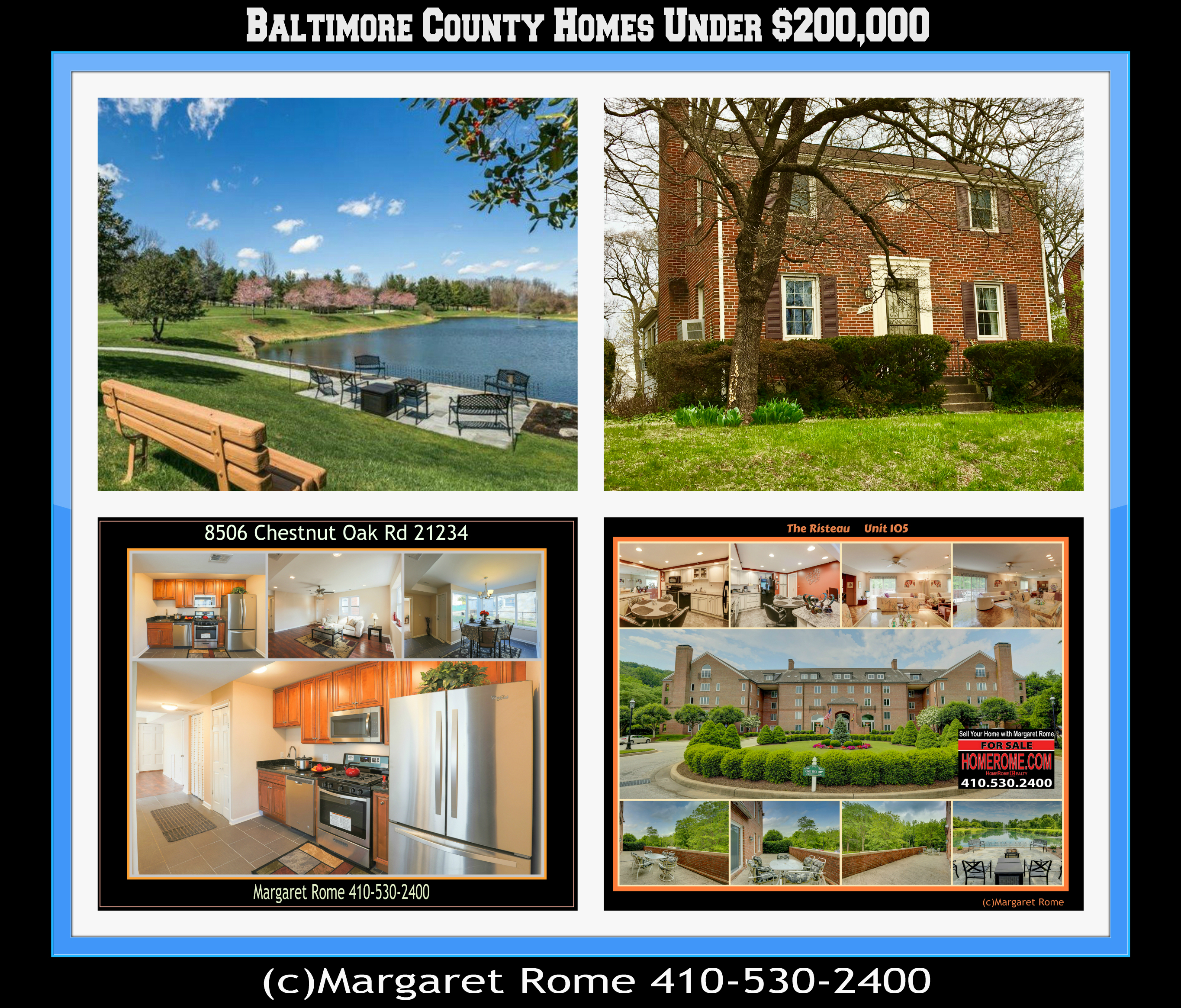 Baltimore County Homes Under $200K