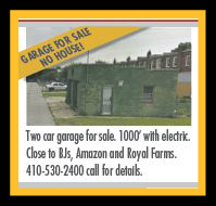 Garage For Sale No House