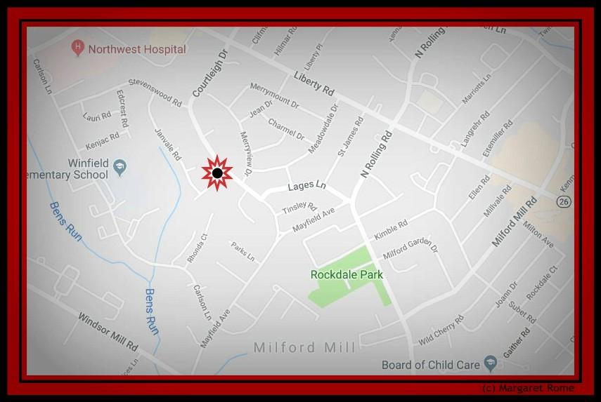 Kimberleigh West Map NW hospital