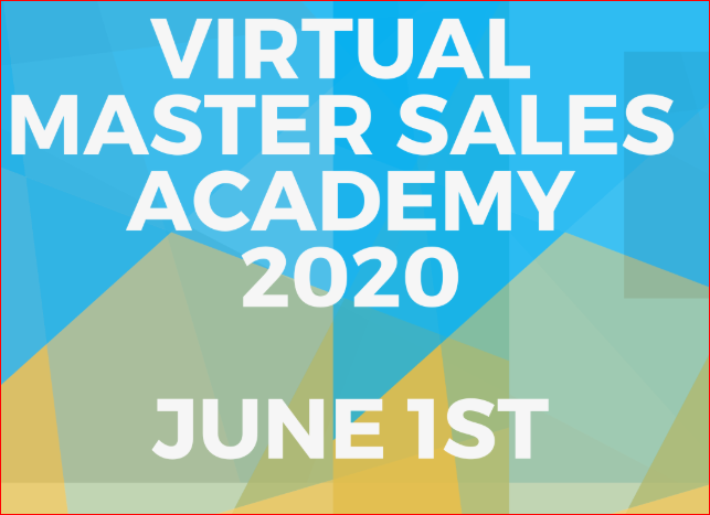 Master Sales Academy June 1 MSA