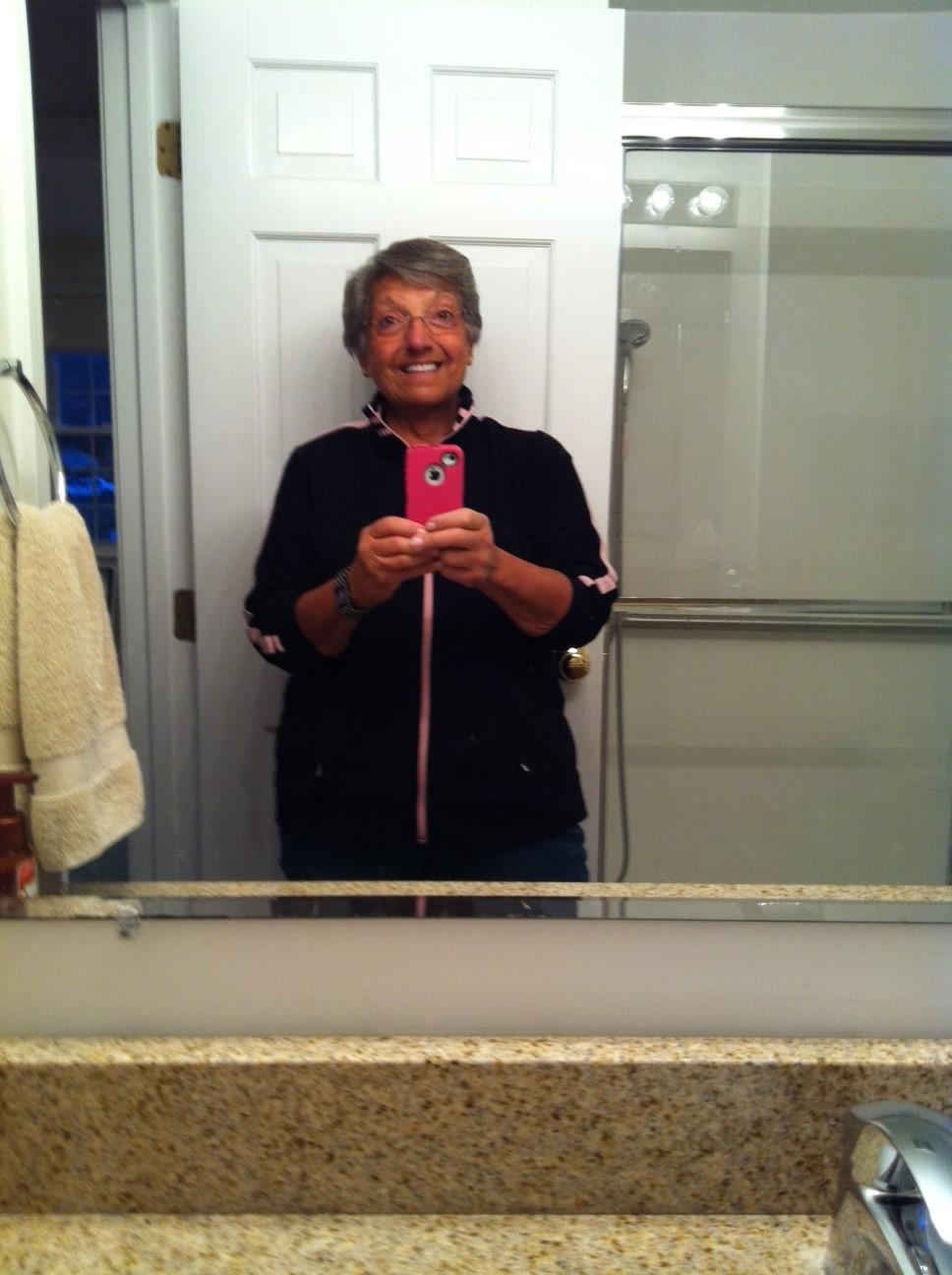 ugly mirror selfie - photo #2