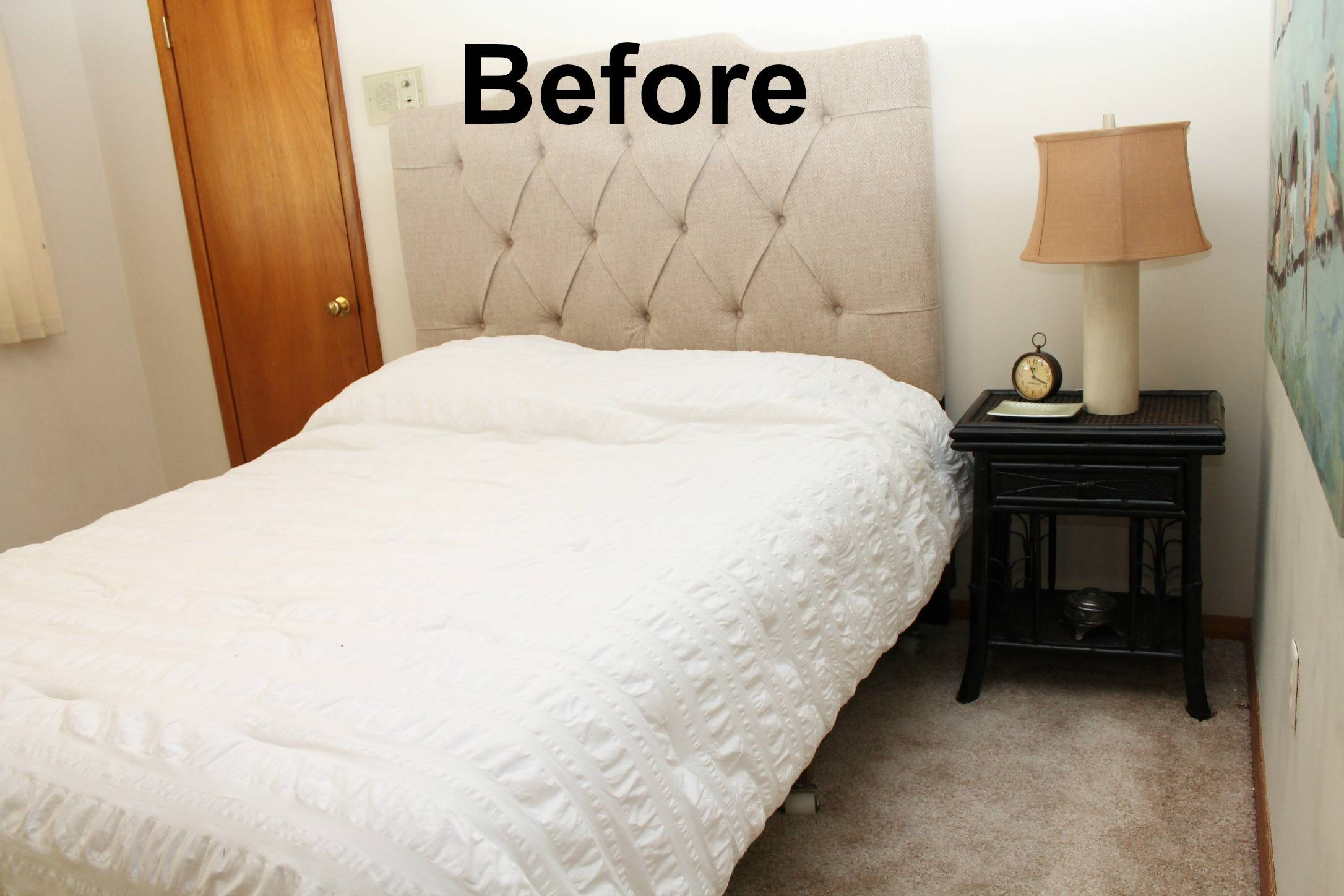 staging a bedroom.  3 Common DIY bedroom staging mistakes