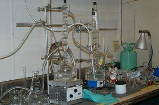 when this chemical reaction is started it continues until all the elements have reacted and cannot be shut down easily