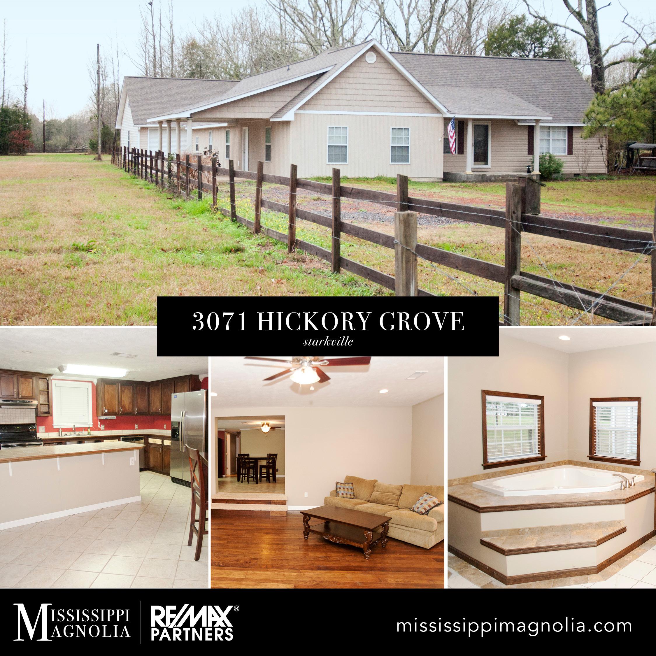 3071 Hickory Grove, Starkville, MS 39759