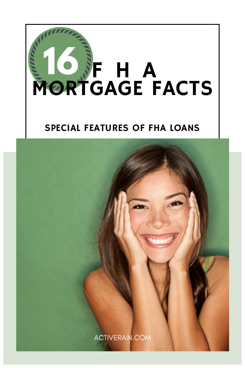 FHA Mortgage Facts: Special Features