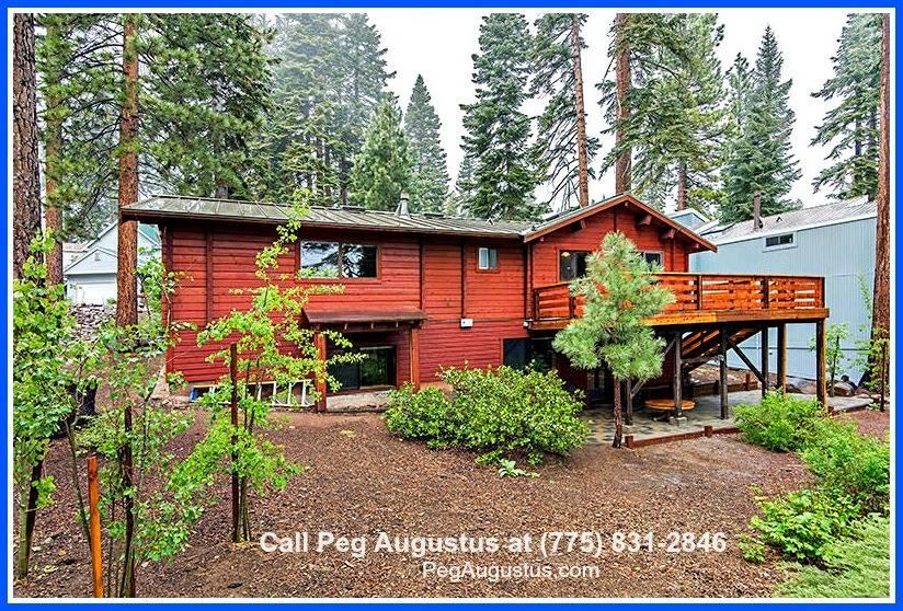 log cabin incline village real estate 205 nadine ct