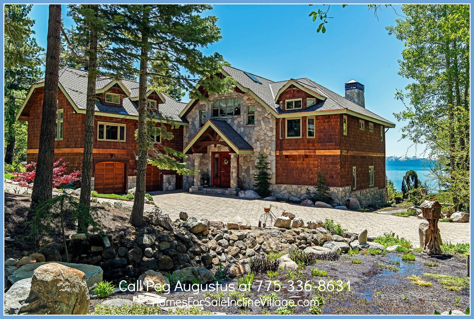 Luxury estate for sale in incline village for Luxury homes for sale in lake tahoe