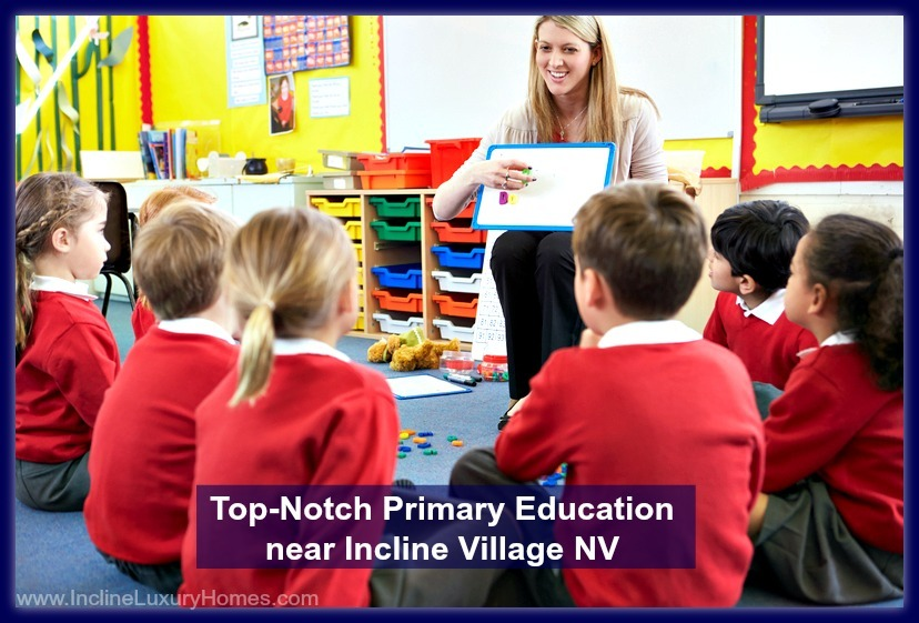 Give your kids the top-notch education they deserve - live in a luxury home in Incline Village!