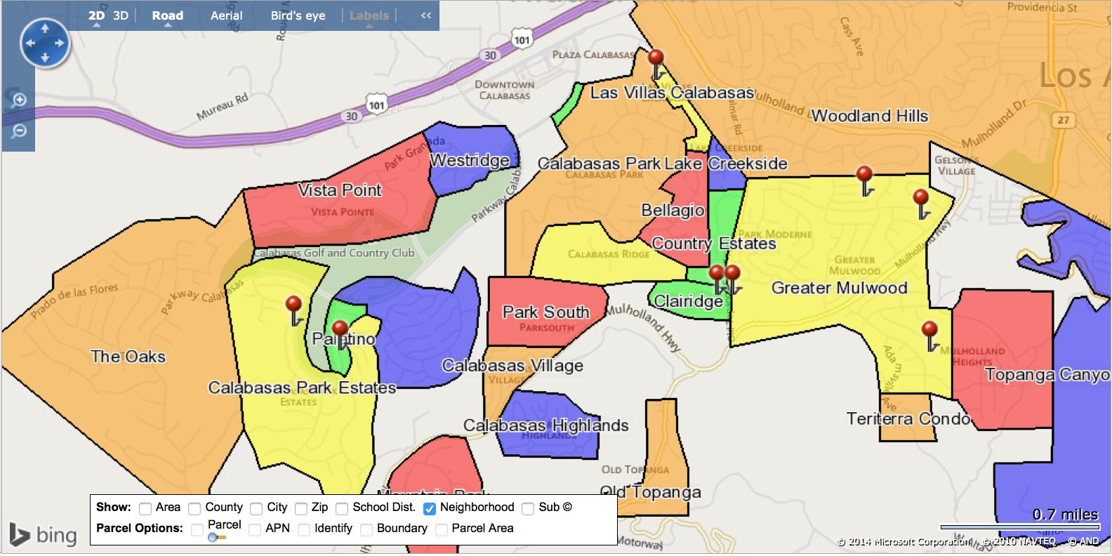 Real Estate Market in Calabasas CA: December 2014 (sfr)