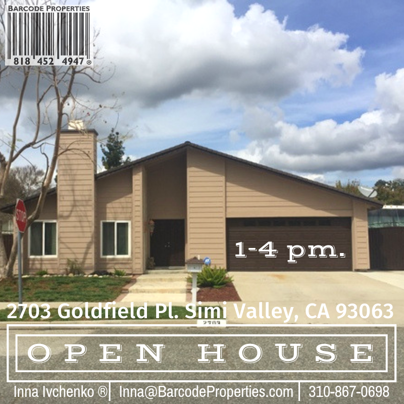 Open house Simi Valley, CA 93063
