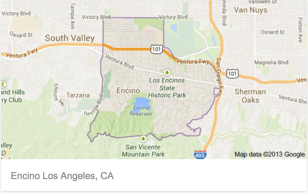 Encino California Map Real Estate Market Update for Encino CA Encino California Map