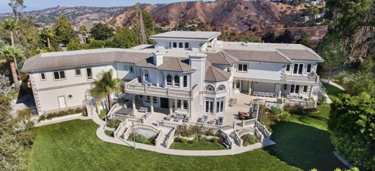 The 5 most expensive homes for sale in calabasas ca 903 for Biggest house in california