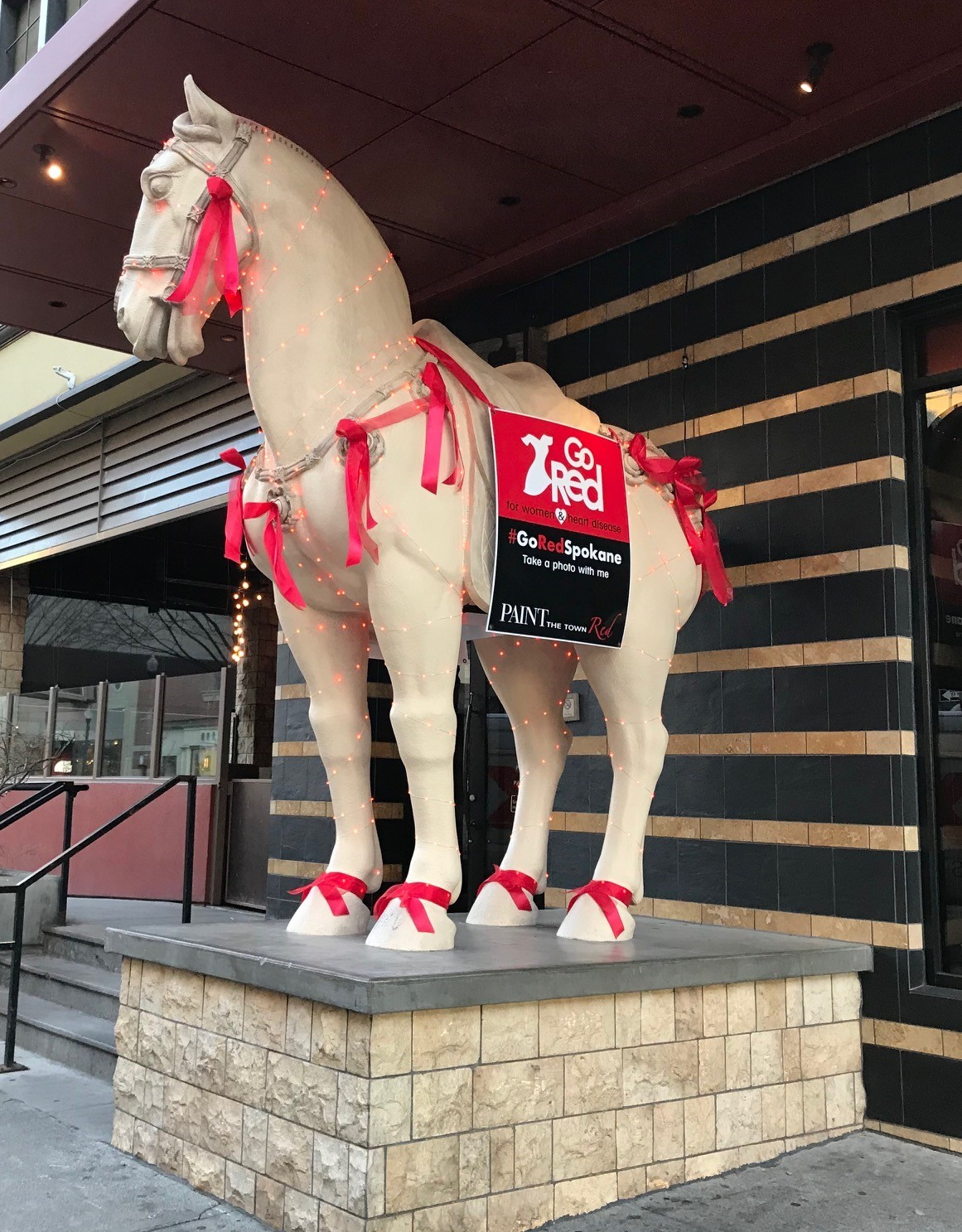 P F Changs supports the American Heart Association