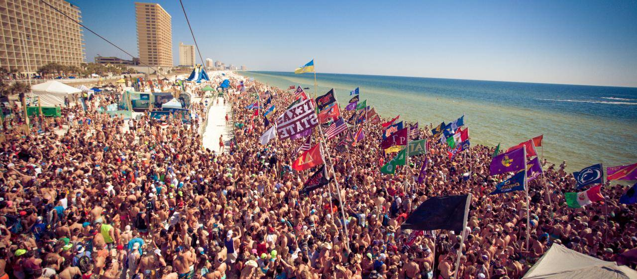 Spring Break 2017 Officially Kicks Off This Weekend Over Half A Million Students Will Flock To Panama City Beach You Ll Barely Be Able See The 27 Miles