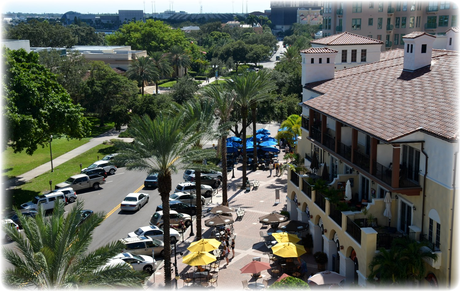 Beach Drive In Downtown St Petersburg Florida