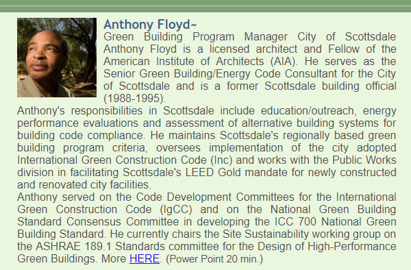 Anthony Floyd, City of Scottsdale, AZ