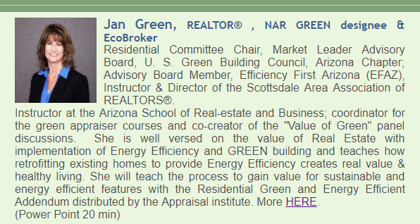 Jan Green, HomeSmart, REALTOR