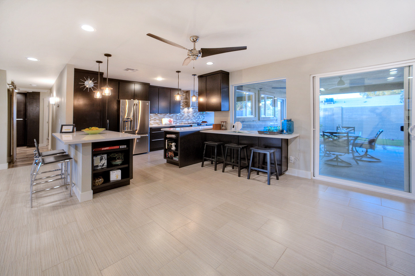 Open house green certified home south scottsdale for Green certified home