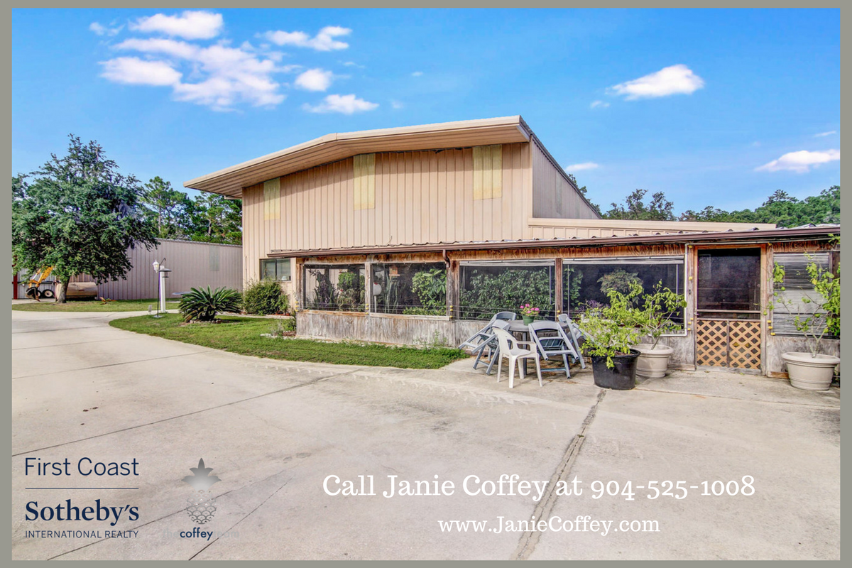 Horse Property For Sale St Augustine Fl
