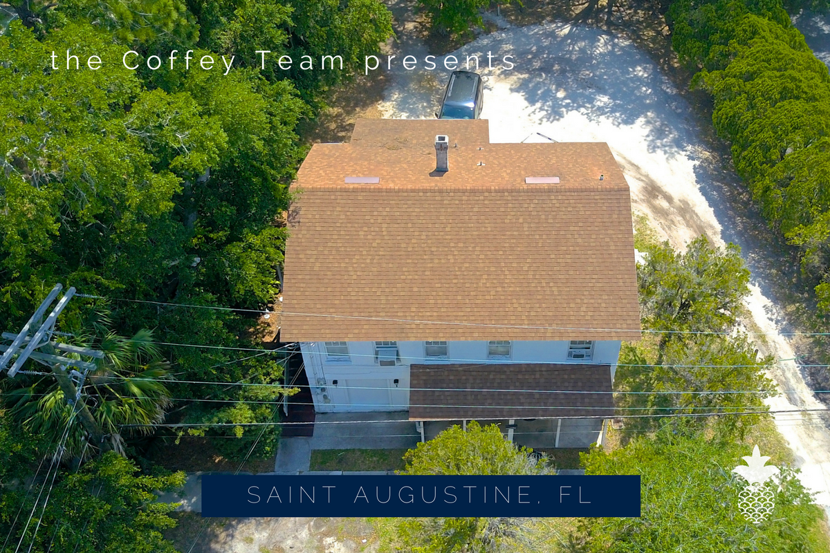 Home for sale in Saint Augustine FL- Turn your dream of wealth building into reality with this Saint Augustine multi-family home for sale.