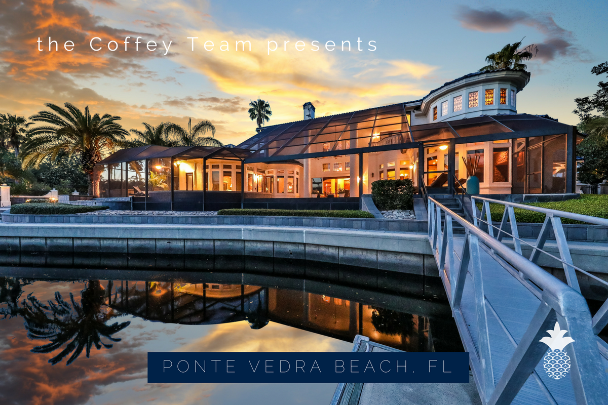 A deepwater marina is in the midst of Harbour Island. It provides boat slips for residents in this lovely Ponte Vedra Beach community.  This luxury home has a waterway access that includes two 50 foot floating docks and jet ski lifts on the lagoon.