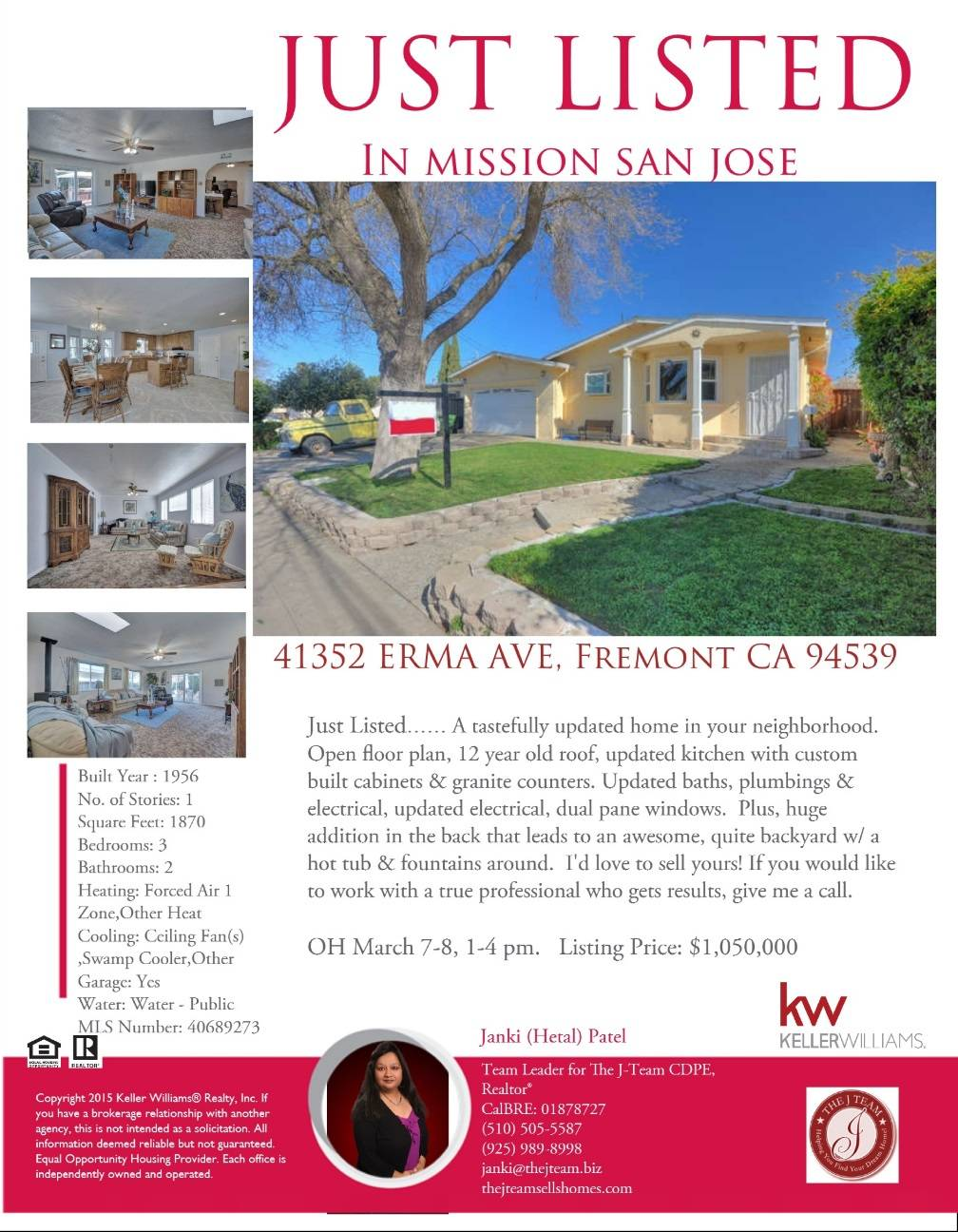mission san jose home just listed open house this wee just listed open house this weekend 1 4