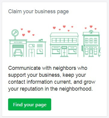 Claim Your Nextdoor business
