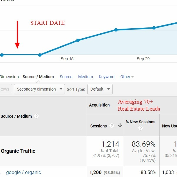 SEO Gets Leads for Real Estate Agents