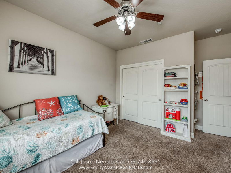 Clovis CA home- Inviting bedrooms are waiting for you in this Clovis CA home for sale.