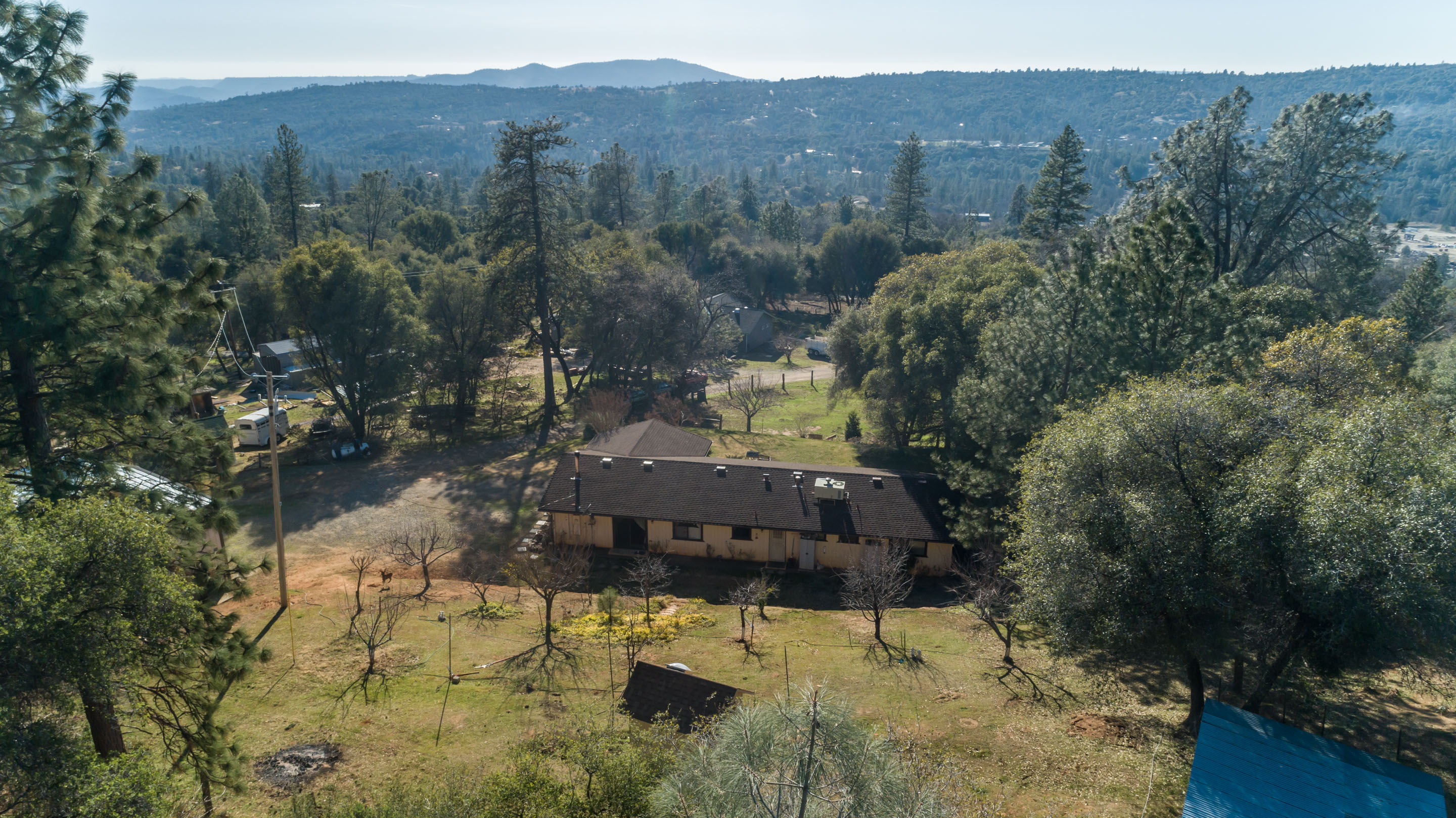Home W/Shop 2 Acres for Sale Near Cascadel Woods North Fork, CA. 93643