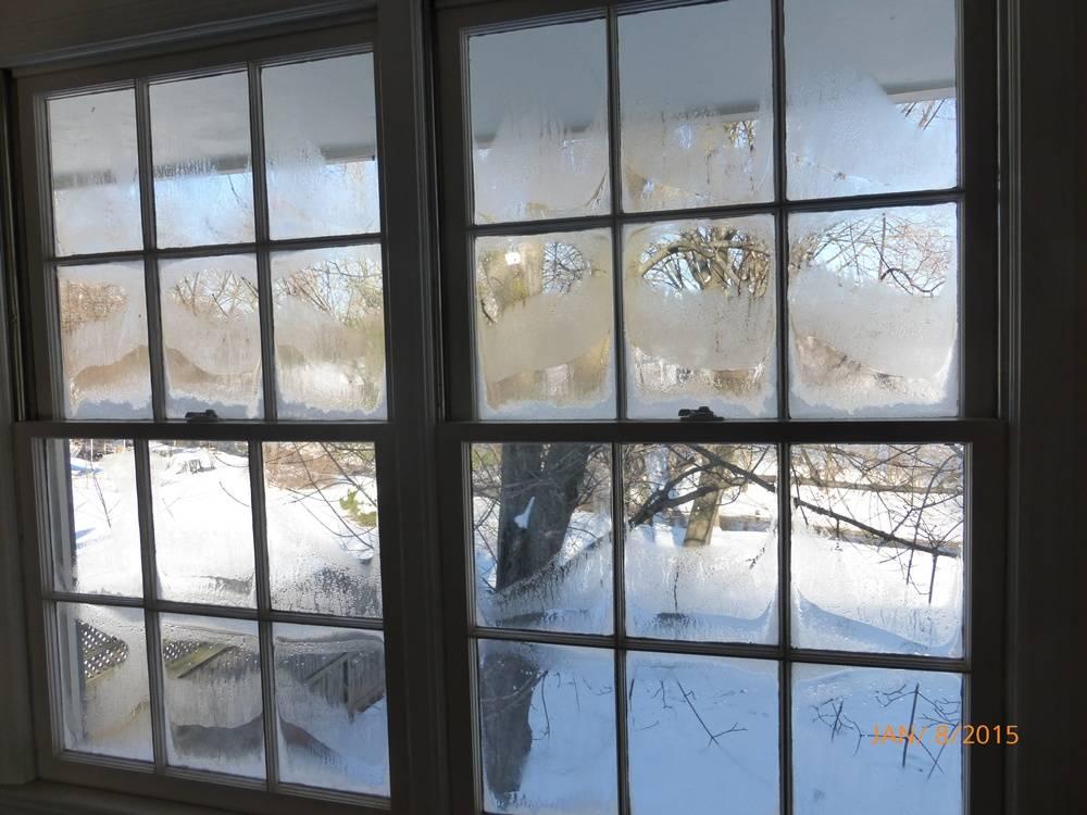Single Glass Windows : The inefficiency of single pane windows on display
