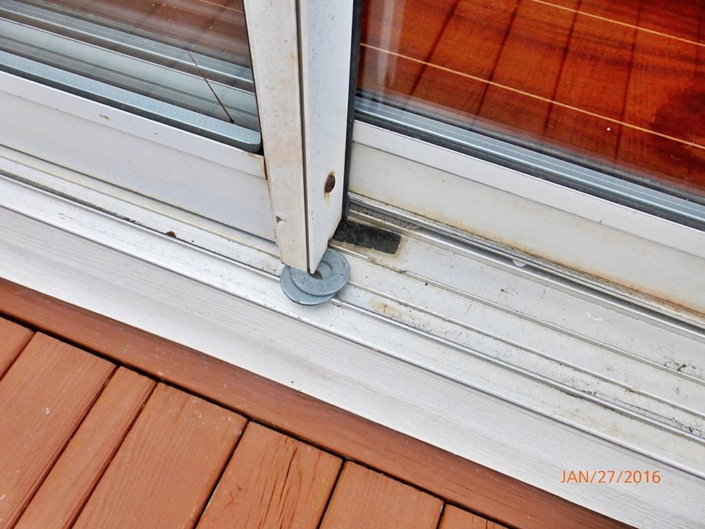 Sliding Glass Door Gap At Bottom Designs