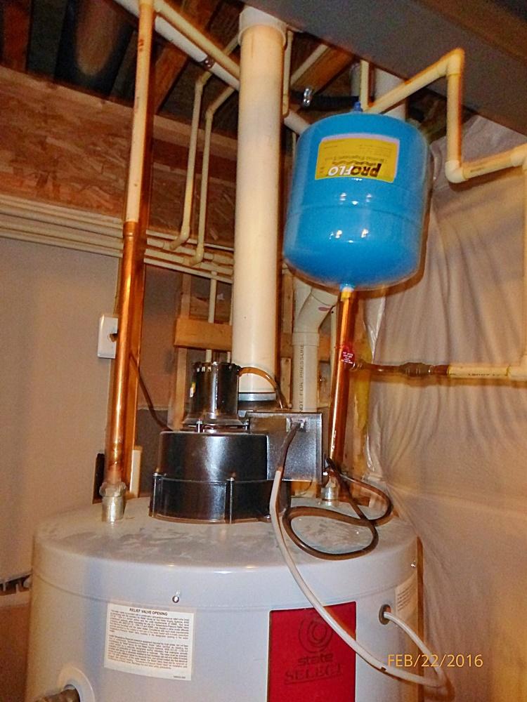 A Dangerous Gas Water Heater Vent